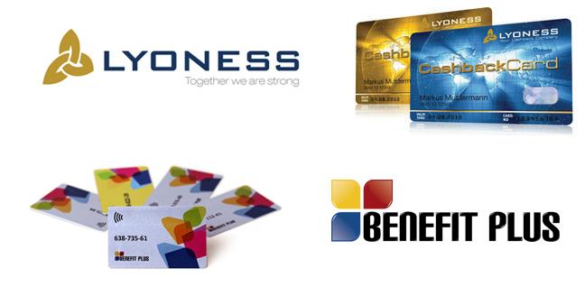 Lyoness a Benefit Plus poukázky